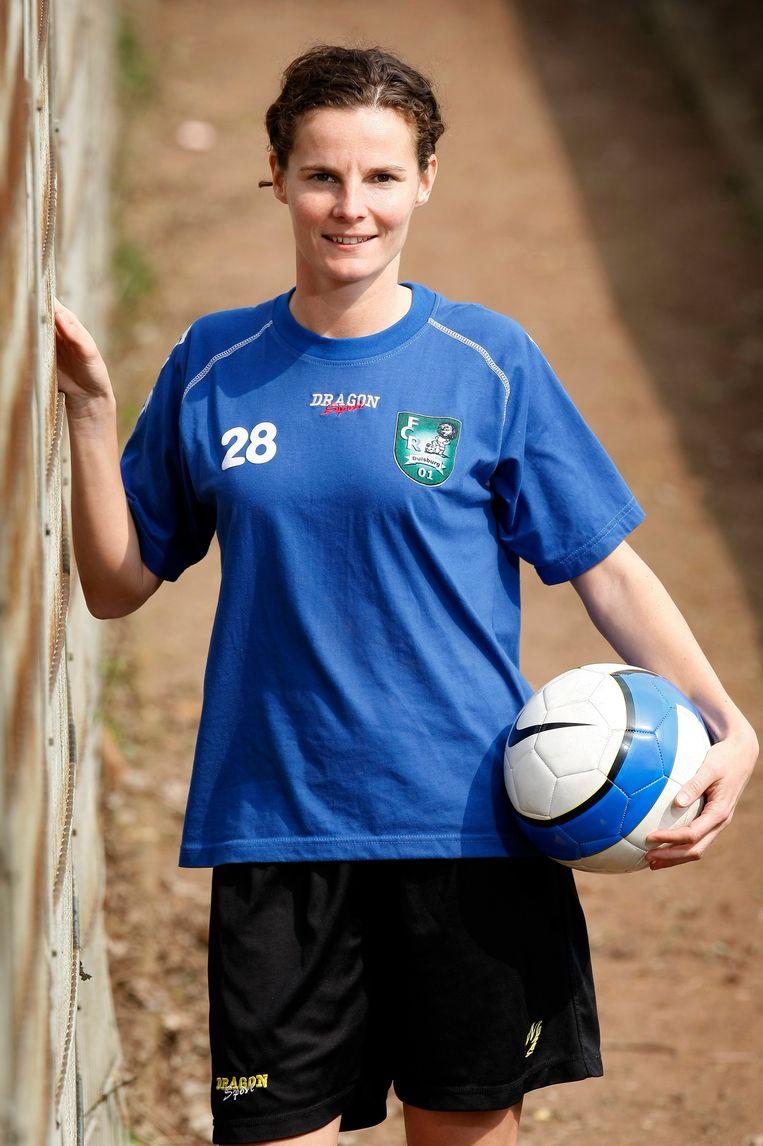 Femke Maes won in 2009 de UEFA Cup met FCR 2001 Duisburg