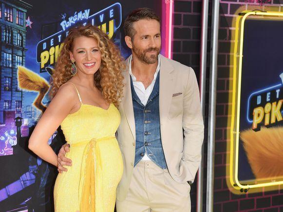 Blake en Ryan in mei van dit jaar.