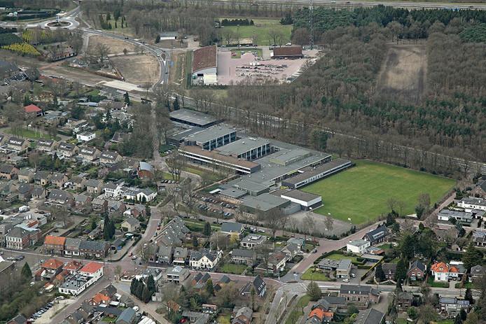 Luchtfoto van Eersel.