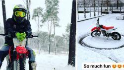 Zolang hij maar kan crossen: Van der Poel amuseert zich kostelijk in de sneeuw maar lacht ook met andermans miserie