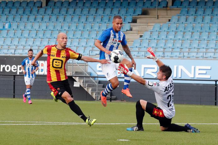 FC Eindhoven tegen KV Mechelen.