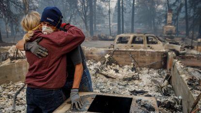 Aantal vermisten van bosbranden Californië verdriedubbeld: van 200 tot 631