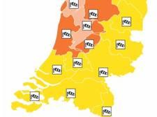 Verwachting: Zeer zware windstoten in Flevoland, code oranje