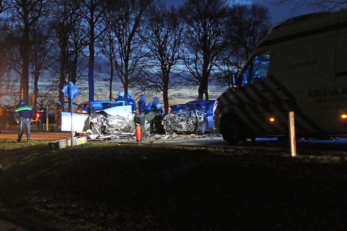 Het ongeluk vond plaats op de Ruurloseweg in Barchem.
