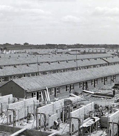 Deze nooddorpen boden onderdak aan Rotterdammers die hun woning waren verloren in het bombardement