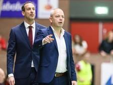 Interessante ontmoeting korfballers Jong Oranje en DSC in Eindhoven
