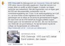 Reactie VVD