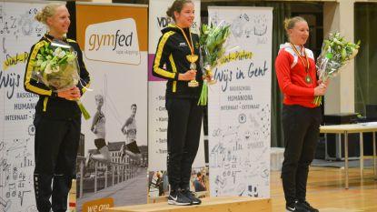 Janne Dewaele van Recrean Oudenaarde voor derde keer op rij Belgisch kampioen rope skipping