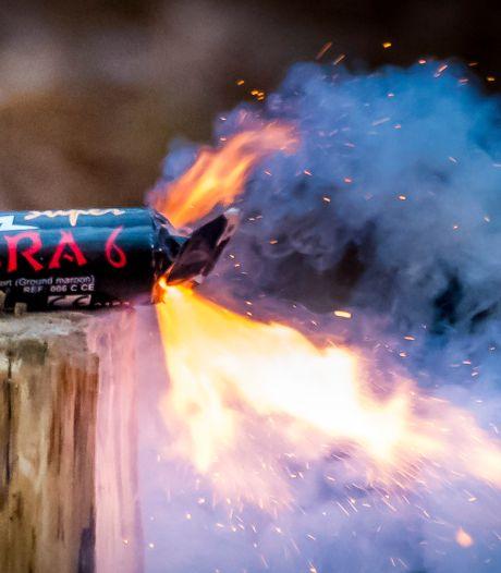 Illegaal zwaar vuurwerk aangetroffen in Buren, eigenaar komt weg met waarschuwing