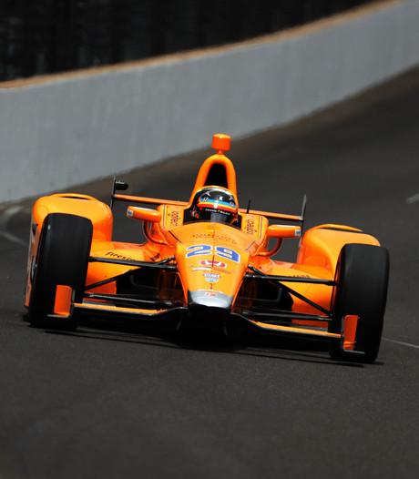 'Rookie' Alonso start als vijfde in Indy500