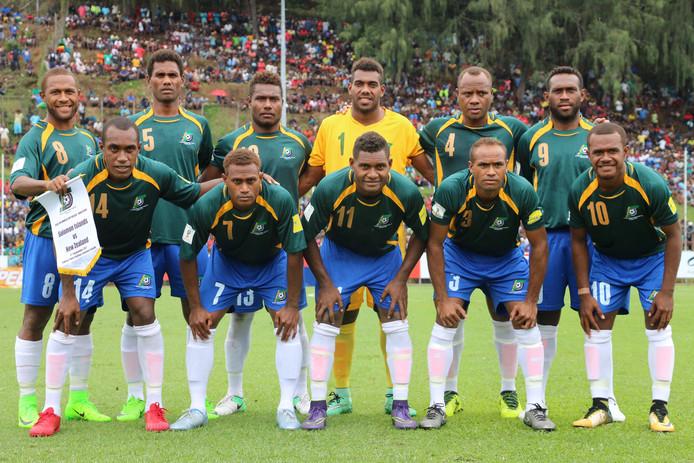 Het nationaal team van de Salomonseilanden speelt op donderdag 30 mei een oefenduel bij tweedeklasser JEKA in Breda.