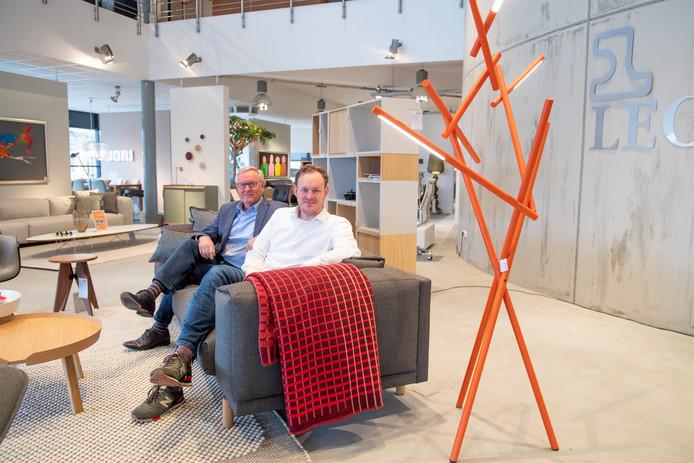 Jan Wolters (links) en Jan-Egbert Wolters van Wolters Wonen.