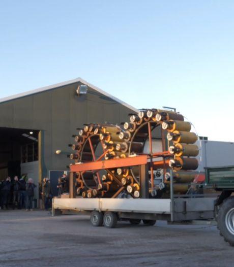 Henk-Jan bouwt gigantisch carbidkanon voor oudjaar