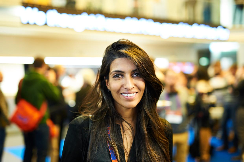 Talent is evenredig verdeeld, mogelijkheden niet, vond Leila Janah.