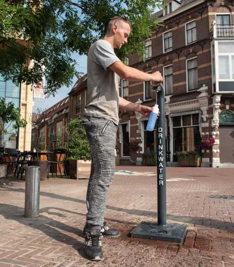 Extra watertappunten in Arnhem: 'Dat komt mooi uit nu de temperaturen zo hoog oplopen'
