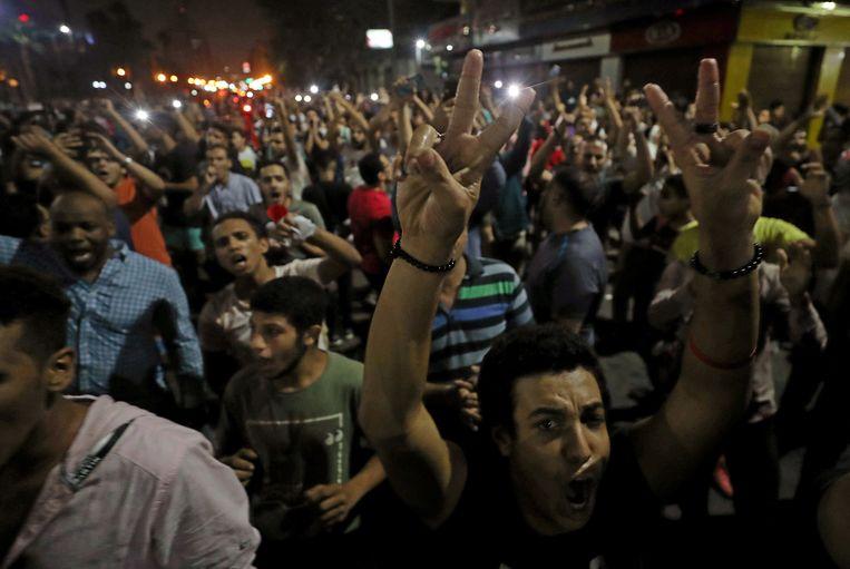 Protest in Caïro.