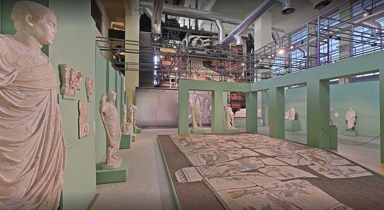 Het overvallen museum Centrale Montemartini is ook online te bezoeken via Google Street View. Het is ondergebracht in een voormalige elektriciteitscentrale.