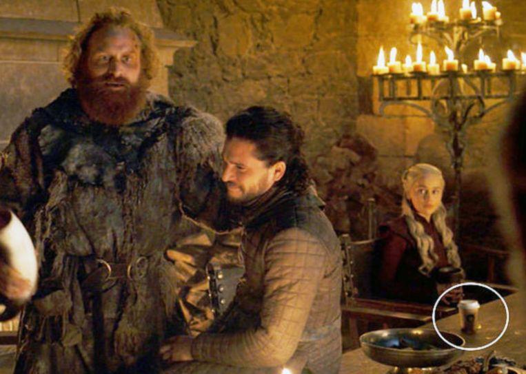 De 'Game Of Thrones'-koffiebeker