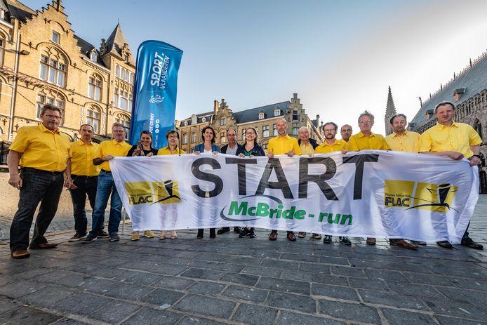 Beiaard zal lopers opwarmen voor de  McBride halve marathon