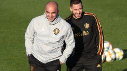 """Bondscoach Roberto Martínez bezorgd om Hazard: """"Eden zal minstens drie maanden out zijn"""""""