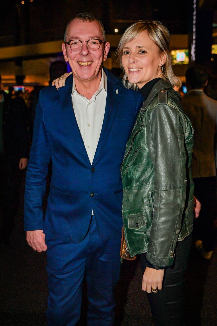 Petra De Pauw en Herman Verbruggen