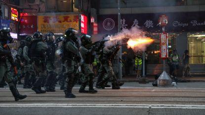 Al 22e weekend op rij protesten in Hongkong: politie zet traangas in