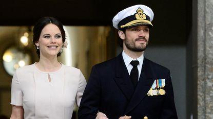Prins Carl Philip en prinses Sofia van Zweden verwelkomen tweede zoontje