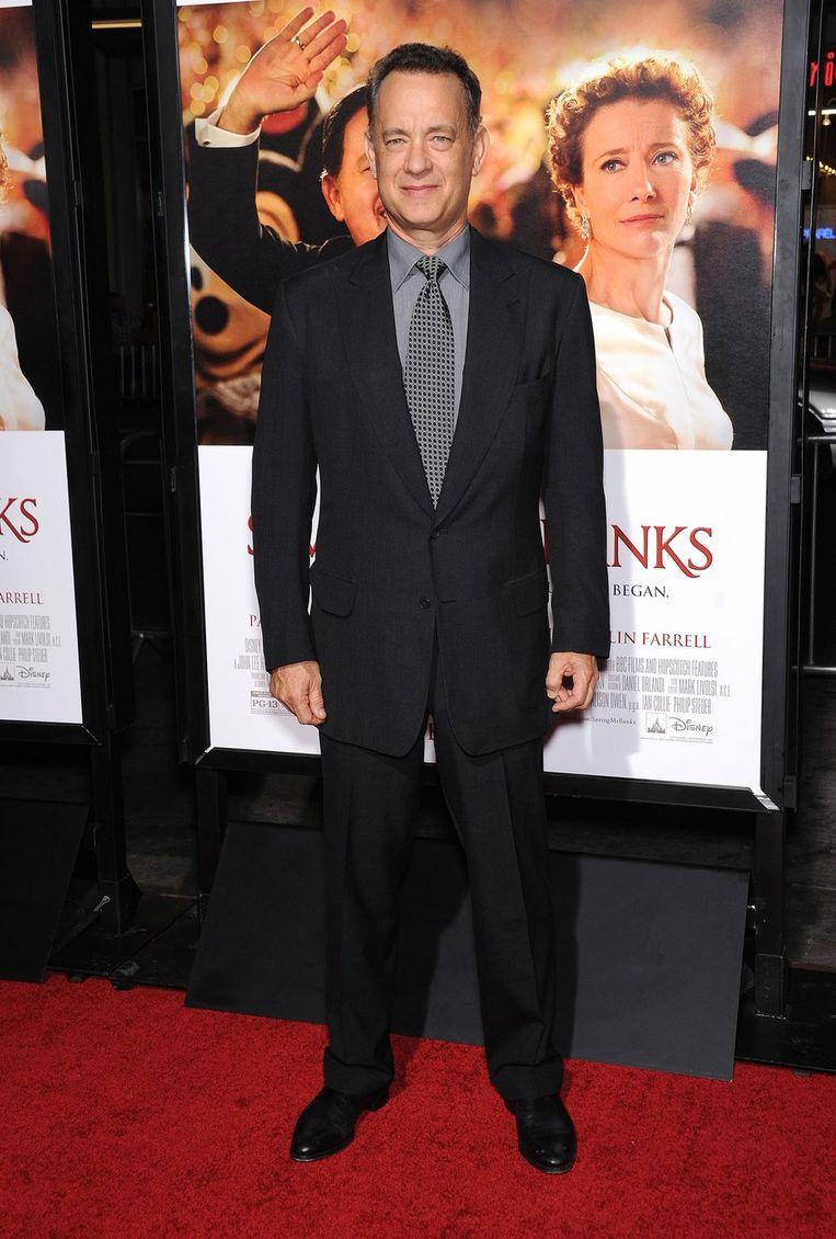 Tom Hanks op de première van 'Saving Mr. Banks' in Burbank