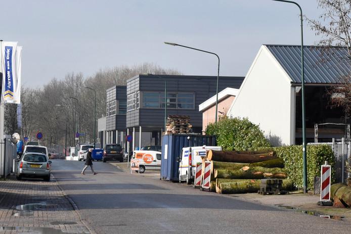 Het bedrijventerrein Barwoutswaarder is 'erg gedateerd' en heeft een upgrade 'hard nodig', zegt David Verweij, ondernemer en voorzitter van de Ondernemerskring Woerden.