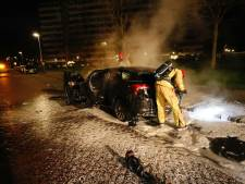 Gestolen auto in brand gestoken in Eindhoven