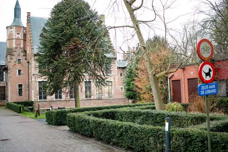 Het stadspark in Sint-Niklaas.