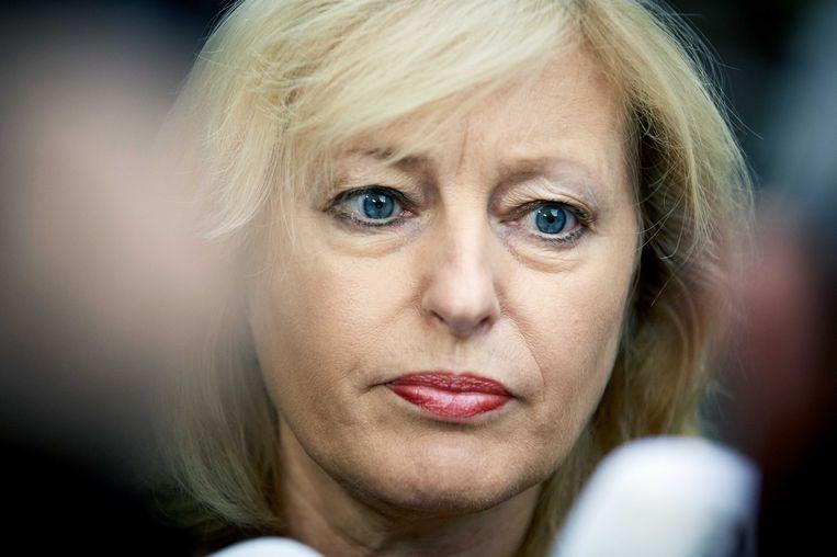 Minister Bussemaker. Beeld anp