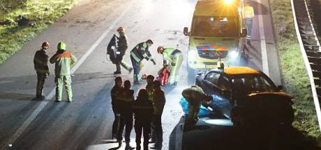 Twee gewonden bij ongeval A326 Wijchen