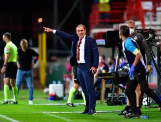 """KV Kortrijk-coach Yves Vanderhaeghe over de angst voor corona in zijn spelersgroep: """"Het is elke keer bang afwachten"""""""