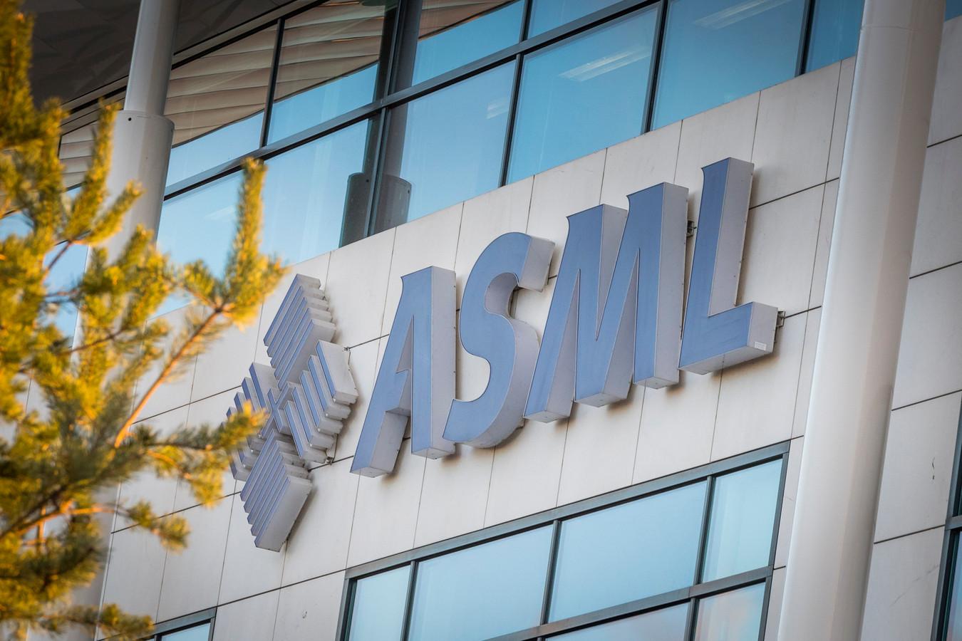 Het hoofdkantoor van ASML in Veldhoven.