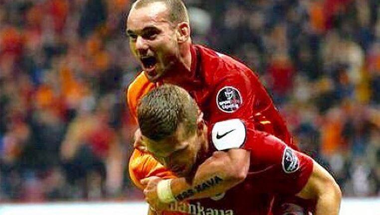 Sneijder Bezegelt Liefde Voor Zijn Zoon Met Een Tattoo Time Out