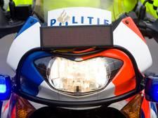 Door politiemotor aangereden fietser weer thuis uit ziekenhuis