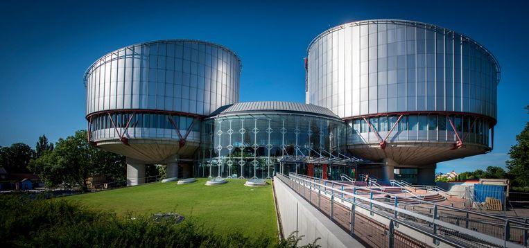 Het Europees Hof voor de Rechten van de Mens in Straatsburg. Beeld ANP