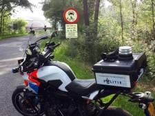 Tientallen bekeuringen op Elsenerveldweg en Oplegger in Rijssen