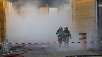 Brand in opslagsilo isolatiebedrijf