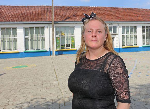 Directrice Els De Saeger van de gemeentelijke basisschool De Kiem.