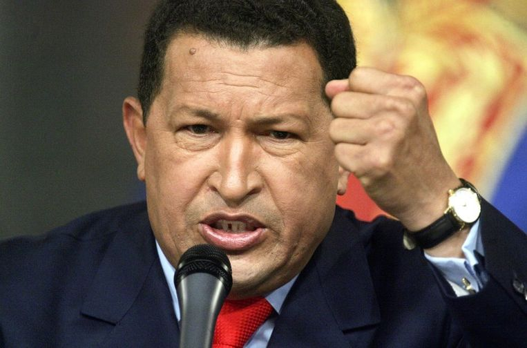 Chávez bij een speech in december 2006. Beeld getty