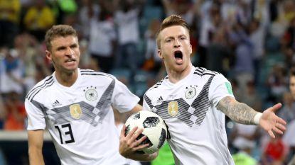 LIVE. Reus geeft Duitsland weer hoop, Zweden kruipt achteruit