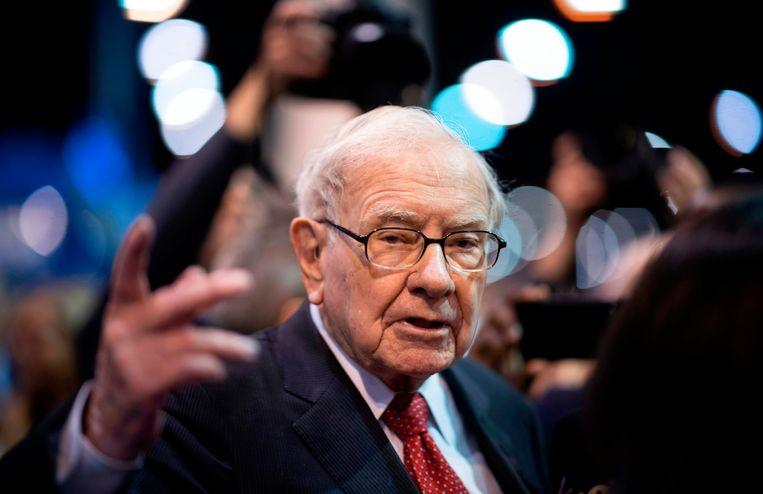 De Amerikaanse multimiljardair en bekende belegger Warren Buffett.