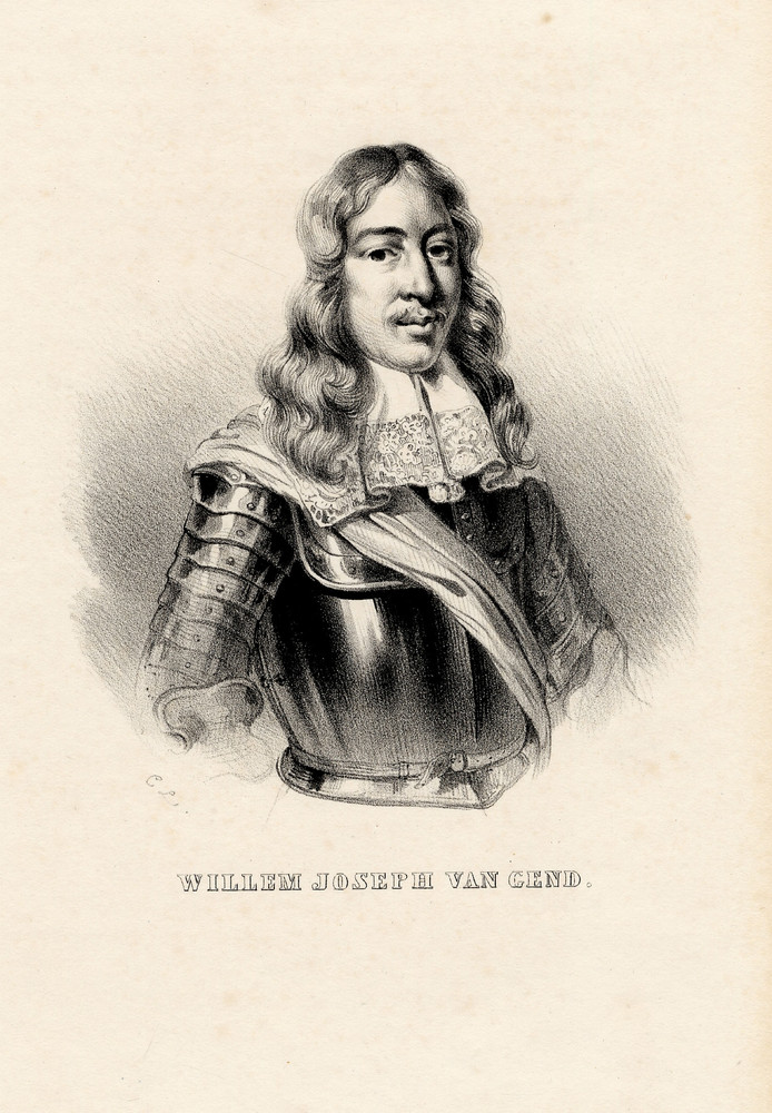 De Winssense zeeheld Willem Joseph Van Ghent.