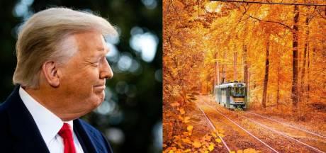 """Le message d'adieu de la Stib à Donald Trump: """"Le trou à rats vous salue"""""""