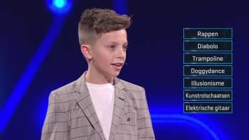 Kan jij raden wat het talent van Delano is?