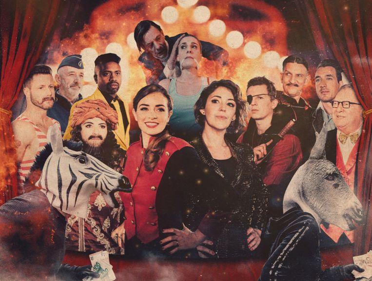 'De Buurtpolitie' trekt naar het circus.