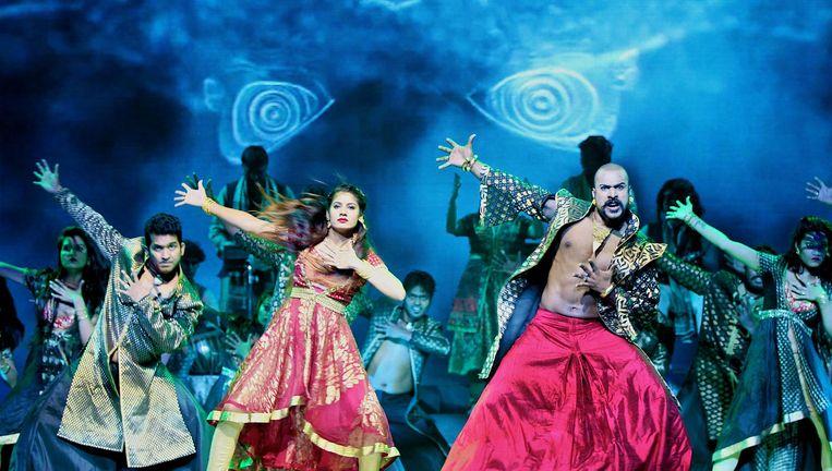 Beeld uit de theatervoorstelling Bharati 2 Beeld