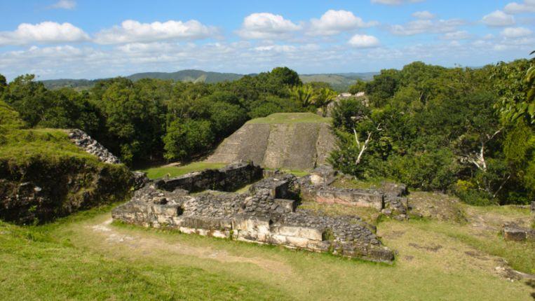 Overblijfselen van de Mayacultuur in Belize. Beeld thinkstock